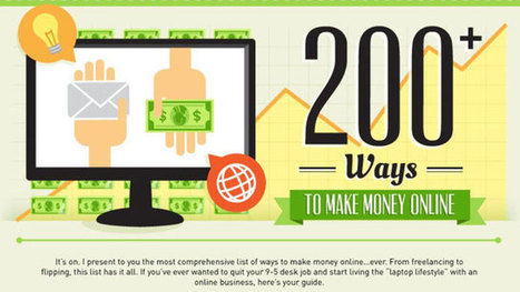 This Graphic Lists Over 200 Resources for Making Money Online | Digital Tools Tips and Hacks | Scoop.it