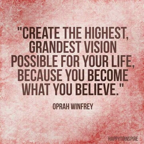 You become what you believe .... | Inspirations for Life | Scoop.it