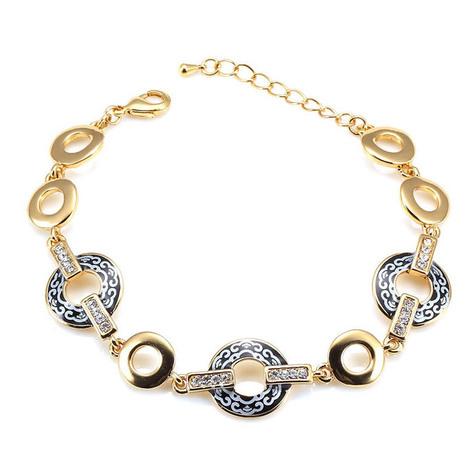 Classical Auspicious Clouds Classical Alloy Women Bracelet | women fashion accessories | Scoop.it