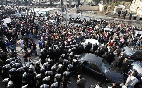 ElBaradei joins protesters in Cairo's Tahrir Square | Coveting Freedom | Scoop.it