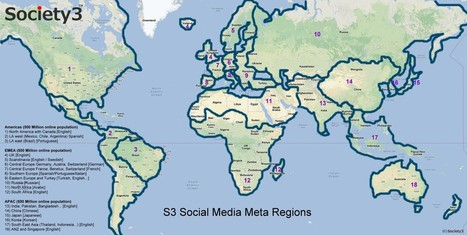 Global Social Media Engagement - Society3 | Social Media Corporate Management | Scoop.it