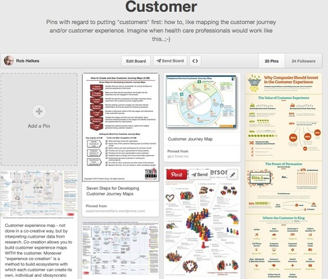 Customer - customer journey - customer experience mapping | eHealth - Social Business in Health | Scoop.it