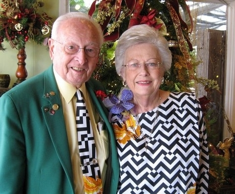 Tie that binds: Matching outfits kept couple married for 64 years | Marriage Articles | Scoop.it