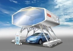 La voiture électrique alimente la maison | Le groupe EDF | Scoop.it