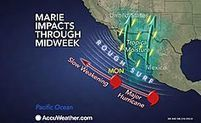 Marie Remains Powerful Hurricane Over Pacific Ocean   Cabo San Lucas   Scoop.it
