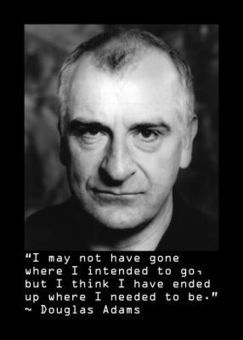 Douglas Adams: quotes of science fiction genius | New Europe | worldnews-today | Scoop.it