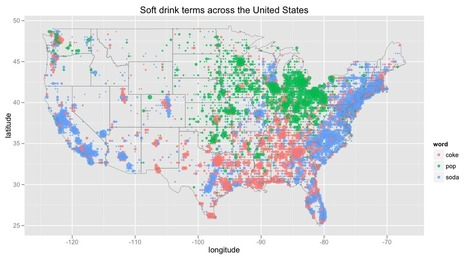 Soda vs. Pop with Twitter | Cultural Geography | Scoop.it