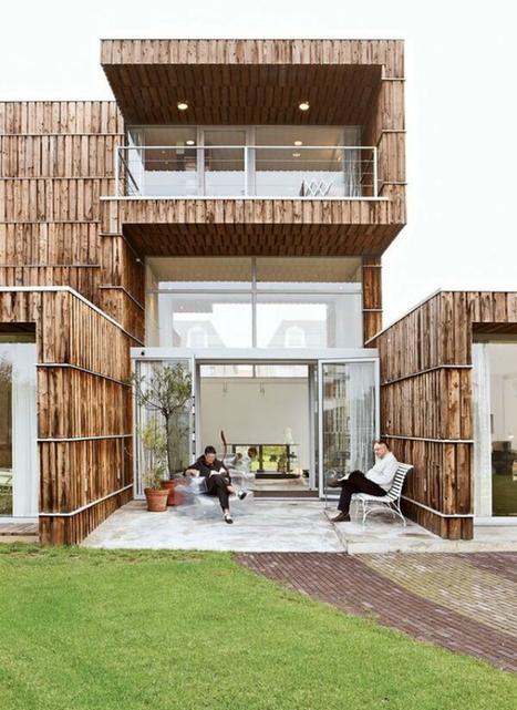 16 maisons entièrement construites à partir de matériaux recyclés   Travaux maison, rénovation, extension...   Scoop.it