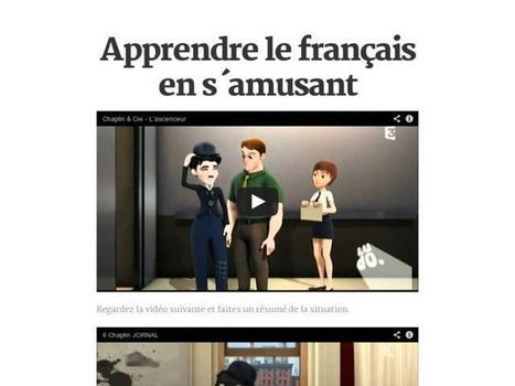 Apprendre le français en s´amusant | fle&didaktike | Scoop.it