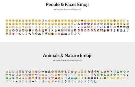 Dos sitios web para copiar y pegar emojis desde el navegador | JAV - #SocialMedia, #SEO, #tECONOLOGÍA & más | Scoop.it