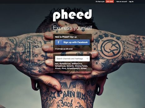 Pheed : un mix entre Twitter et MySpace | Froggy'Net et Facebook pour l'entreprise | Scoop.it