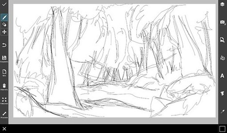Step By Step Tutorial on How to Draw a Jungle Using PicsArt Drawing Tools | Drawing | Scoop.it