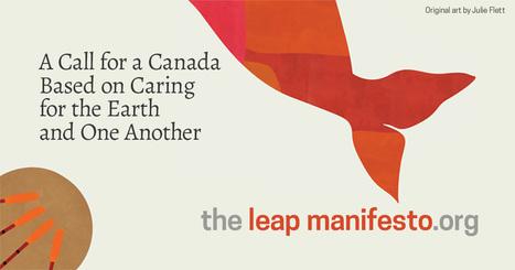 The Leap Manifesto   Santé, bien-être, environnement   Scoop.it