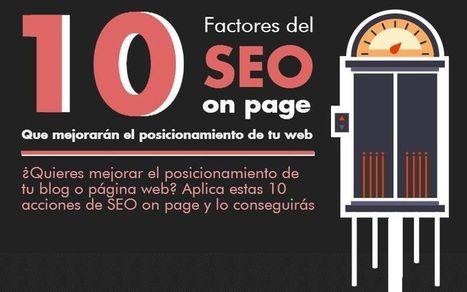 10 claves del SEO On Page para posicionar bien en Google | Infografías | Scoop.it