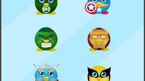 10 Creative Twitter Icons Super Heroes Edition   iDesignResources.com   Web Designer Resources for Beginners   Scoop.it