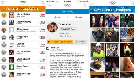 Best iPhone and iPad apps for Sochi 2014 Winter Olympics | e-learning in high school | Scoop.it