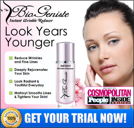 BioGeniste Instant Wrinkle Reducer Review – Get Risk Free Trial Now | Rewind your skin to its youthful beauty with BioGeniste Anti Aging Cream | Scoop.it