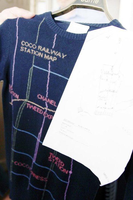 The Paris-Edimbourg Knitwear Trail - Style Bubble | fibre life | Scoop.it