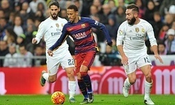 Barcelona complain after pundits back Real Madrid's Isco for kick on Neymar - The Guardian   AC Affairs   Scoop.it