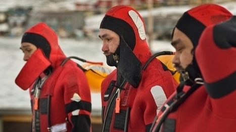 Mariners-in-training get a lesson in surviving Arctic waters | Oceans and Wildlife | Scoop.it