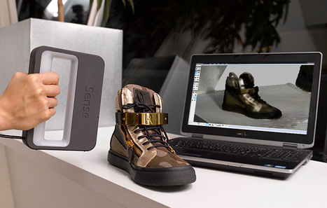3D Systems Sense 3D Scanner is Professional Quality for DIY Price | 3D and Technology | Scoop.it