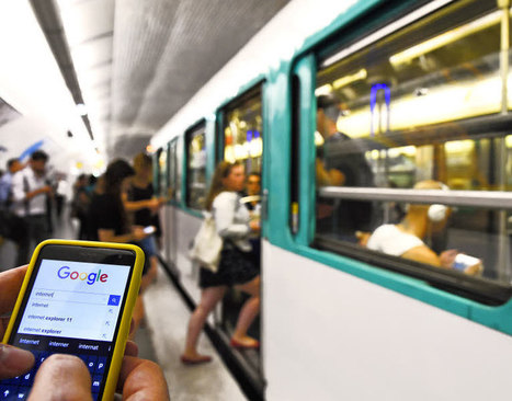 Transports.  L'internet mobile sur de bons rails | L'Internet Mobile | Scoop.it