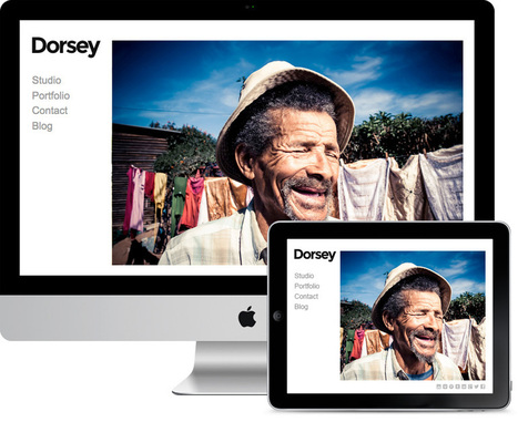 Dorsey WP Photographers, Artists & Illustrators Theme | Fashion Portfolio | Scoop.it
