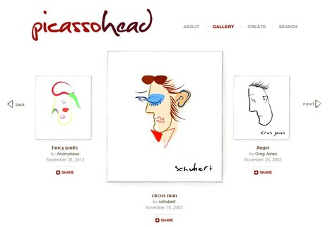 Create your own Piccassohead | alternactif.com | Scoop.it