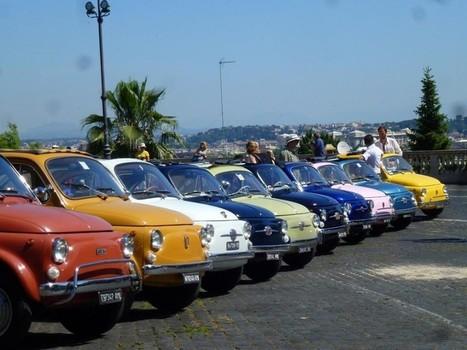 Flashmob vintage, la carica delle Fiat 500 a Trastevere - La Repubblica | OLD CAR & funs | Scoop.it