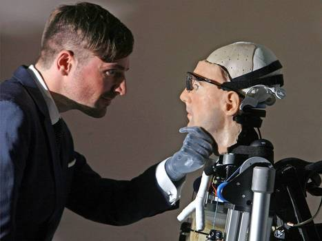 Meet Rex: the $1m bionic man with working heart, set of lungs and human face | It's Show Prep for Radio | Scoop.it