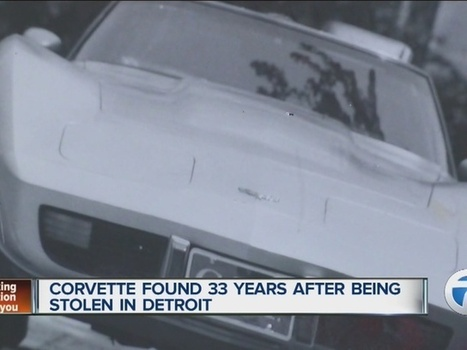 Corvette found 33 years after being stolen in Detroit; GM offers to bring car home to owner | Troy West's Radio Show Prep | Scoop.it