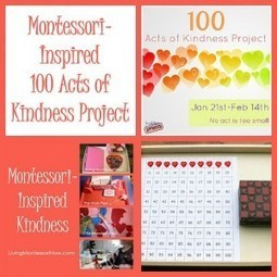 Montessori-Inspired 100 Acts of Kindness Project   Montessori Inspired   Scoop.it