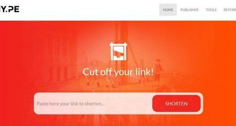 Adhy.pe Review : Make Money Shortening And Sharing Links | Website | Scoop.it