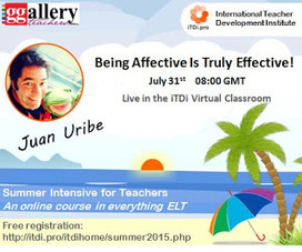 Children Learning English Affectively: My first webinar on Affective Language Learning! | Affective language learning with children | Scoop.it