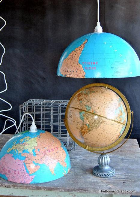 Decoración sostenible: creatividad y reciclaje ... | Las tendencias más importantes. | Scoop.it