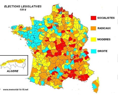 L'état politique de la France après les législatives de 1914 | Mémorial 14-18.net | Nos Racines | Scoop.it
