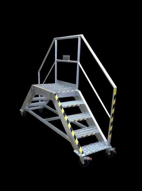 Platform Ladders and Work access Equipment | Alisafe | Truck Access Platform, Ladder Platform & Aluminium Platforms | Scoop.it