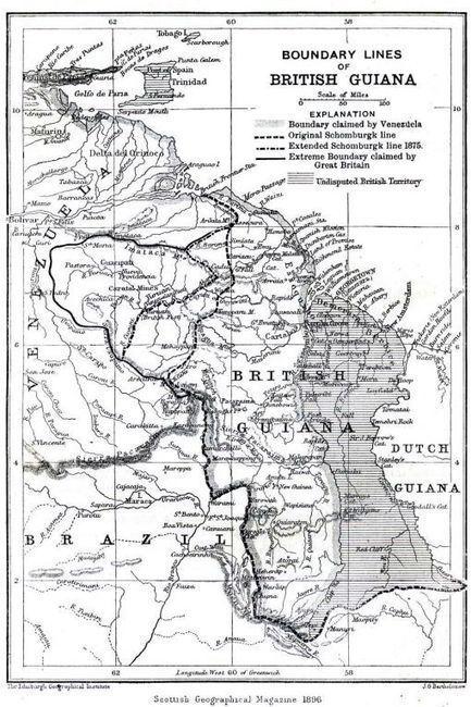 Venezuela–Guyana : aux origines d'un conflit frontalier ravivé par Exxon | Venezuela | Scoop.it