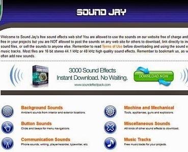 7 sites pour télécharger des effets sonores, bruitages gratuits ou sons   Ressources pour les TICE en primaire   Scoop.it