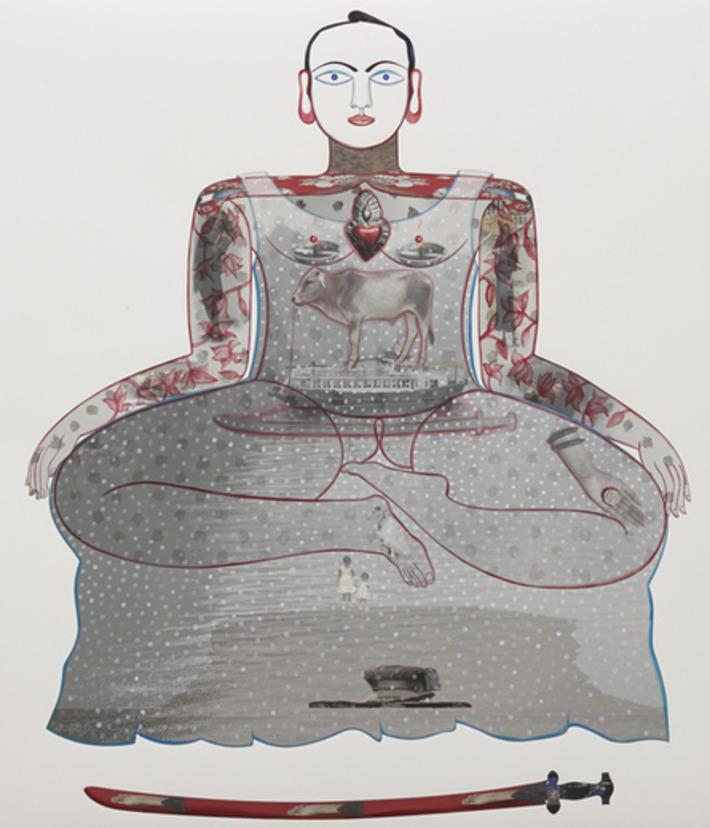 Rekha Rodwittiya's Matters of the Heart   India Art n Design inditerrain   Asie   Scoop.it