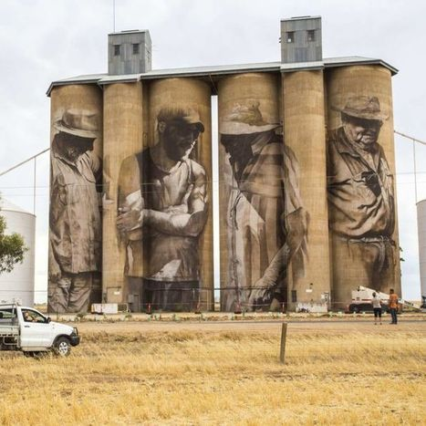 Silo art: plan for 'giant outdoor gallery' in regional Victoria | Lorraine's Place and Liveability | Scoop.it