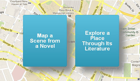 Placing Literature maps book scenes in the real world | Educated | Scoop.it