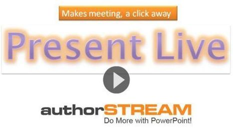 Present Live - Broadcast your Presentations Live, Online | English Classes | Scoop.it