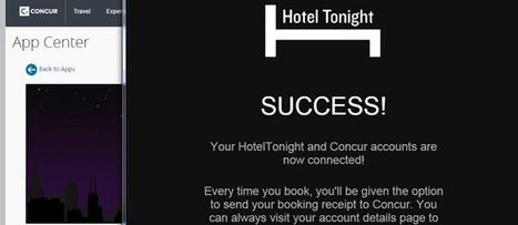 @Concur partners with @Lyft and @HotelTonight | ALBERTO CORRERA - QUADRI E DIRIGENTI TURISMO IN ITALIA | Scoop.it