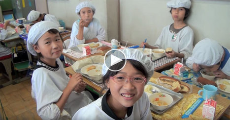 In Japan, School Lunch is About More Than Just Food | Urban eating | Scoop.it