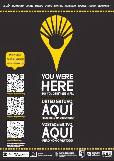 El GDR Ulla Tambre Mandeo inicia una campaña turística con postales y códigos QR | Rotacode Marketing Mobile | Scoop.it
