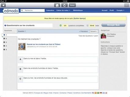 Tablettes numériques réalisation d'un exposé | ... | Intégrations des TICE en classe (deFLE) | Scoop.it