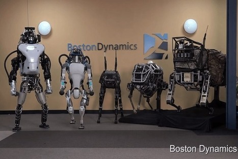 Meet Boston Dynamics' eclectic lineup of innovative (and peculiar) robots | MishMash | Scoop.it