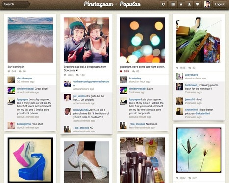 It's Not a Joke Anymore: Someone Actually Built Pinstagram | APPY HOUR | Scoop.it