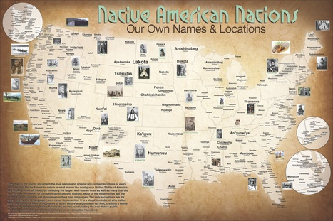 MAP OF THE WEEK: Native American Nations | Fran Lorenzo | Scoop.it